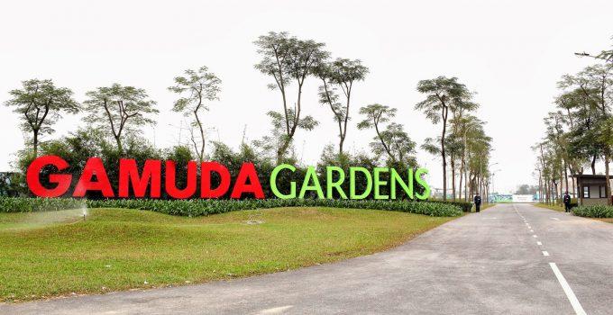 Trồng cây xanh tại biệt thự Gamuda Gardens